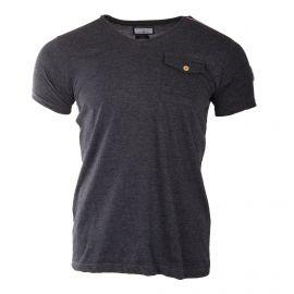 Tee-shirt basique manches courtes homme BIAGGIO marque pas cher prix dégriffés destockage