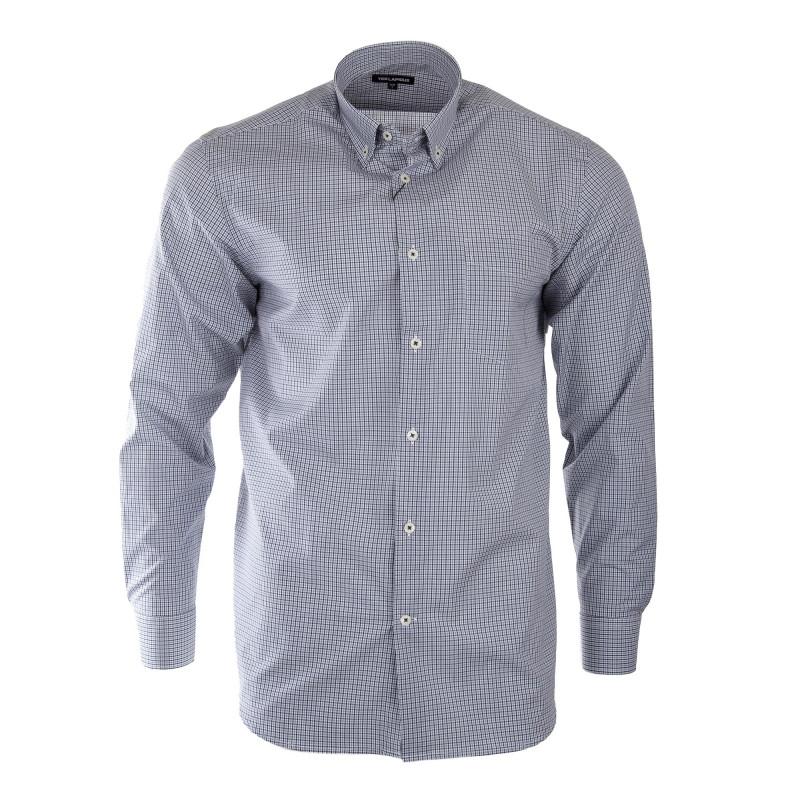 Chemise à carreaux homme TED LAPIDUS marque pas cher prix dégriffés destockage