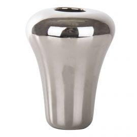 Petit vase en porcelaine argenté GUZZINI marque pas cher prix dégriffés destockage