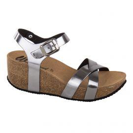 Sandales compensées acier femme WHY LAND