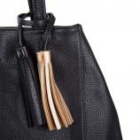 Sac à main simili cuir noir femme CHRISTIAN LACROIX marque pas cher prix dégriffés destockage