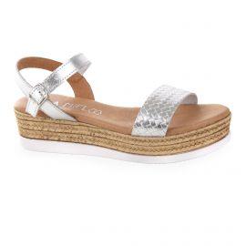Sandales à plateforme femme ISSA MIEL marque pas cher prix dégriffés destockage