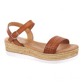 Sandales tressées à plateforme femme ISSA MIEL