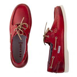 Chaussures bateau tout cuir homme ORLANDO marque pas cher prix dégriffés destockage