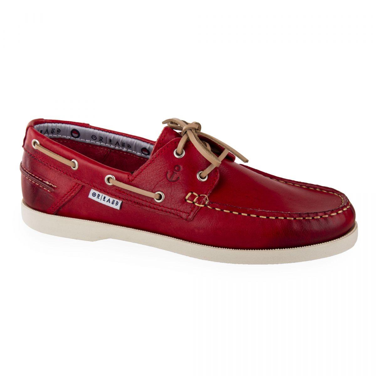 Chaussures bateau tout cuir homme ORLANDO marque pas cher prix dégriffés  destockage ... 576d8f4e43d7