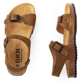 Sandales en cuir garçon DKR