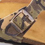 Tongs camouflage homme DKR marque pas cher prix dégriffés destockage