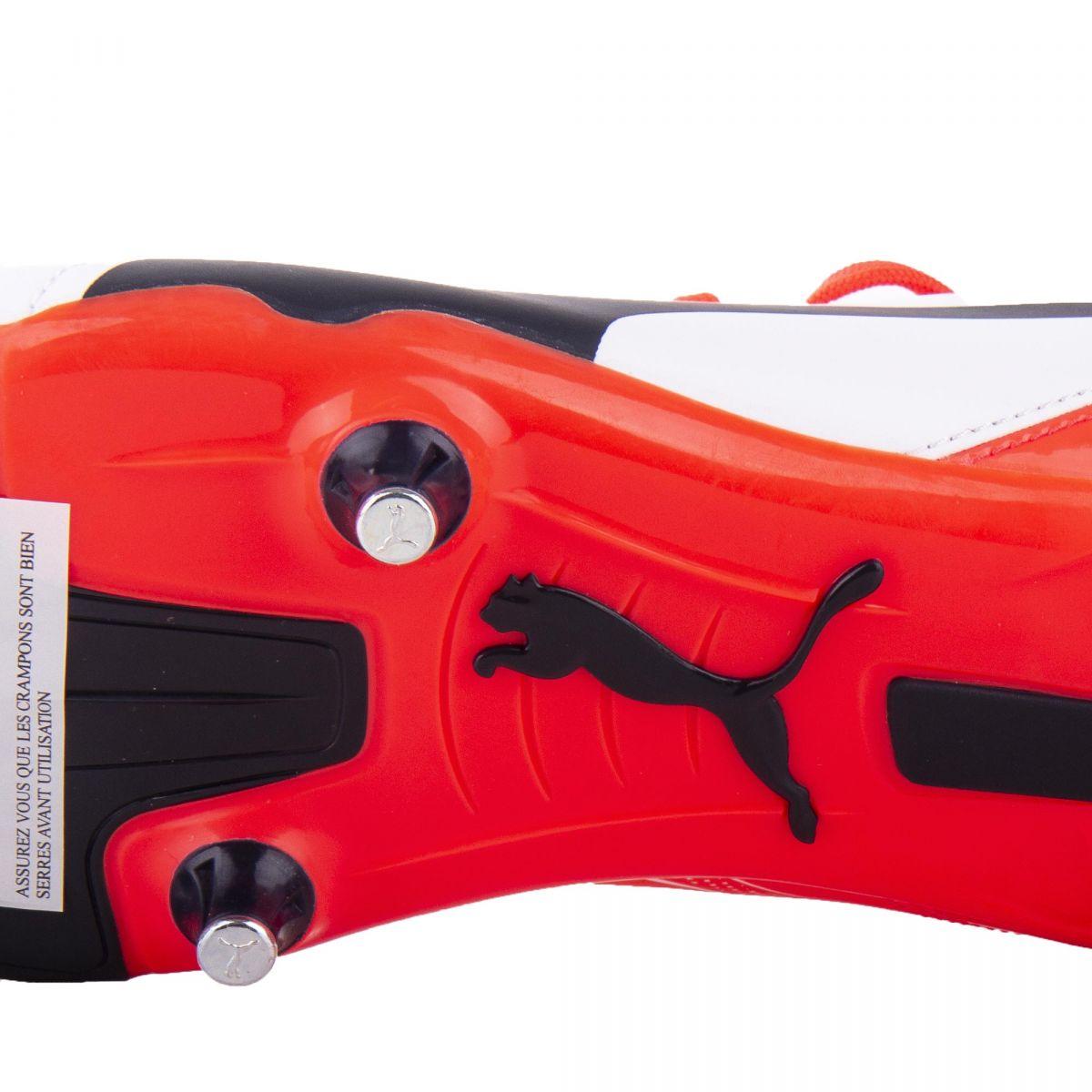Couleurs variées d6c7d d7cbf Chaussures de Foot Crampon Blanche & Rouge Homme PUMA à prix ...