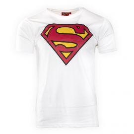 Tee shirt manches courtes logo superman homme MARVEL marque pas cher prix dégriffés destockage