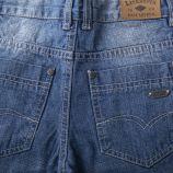 Bermuda en jean zip garçon LEE COOPER marque pas cher prix dégriffés destockage