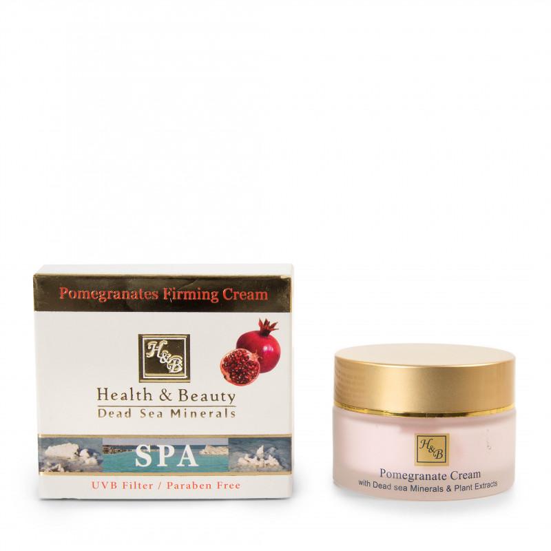 Crème de jour visage à la grenade 50 ml HEALTH AND BEAUTY marque pas cher prix dégriffés destockage