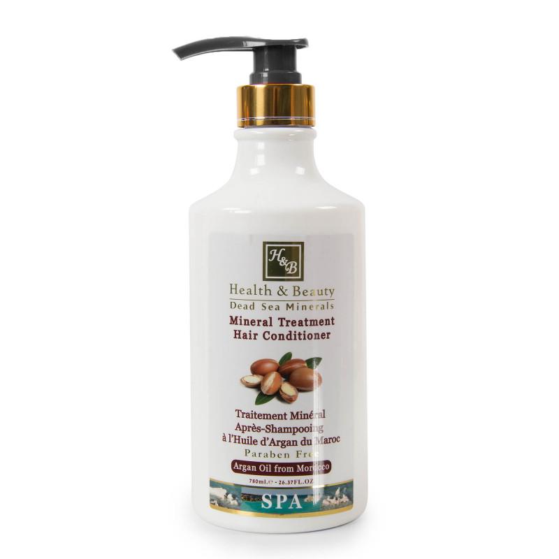 Après shampoing 780ml huile d'argan Health and Beauty marque pas cher prix dégriffés destockage