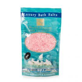 Sel de bain rose 500gr Health and Beauty marque pas cher prix dégriffés destockage