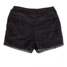 Short en crochet noir femme RED SOUL marque pas cher prix dégriffés destockage