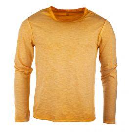 Tee shirt à manches longues chiné homme RED SOUL marque pas cher prix dégriffés destockage