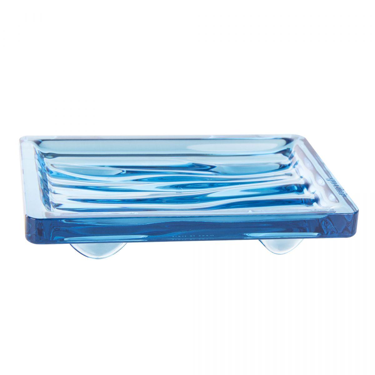 Porte savon en plexiglas GUZZINI marque pas cher prix dégriffés destockage
