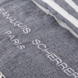 Fouta de plage en coton JEAN LOUIS SCHERRER marque pas cher prix dégriffés destockage