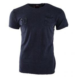 Tee shirt à manches courtes poche homme LONSDALE marque pas cher prix dégriffés destockage