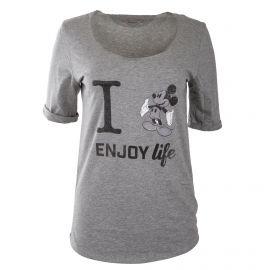 Tee shirt à manches courtes mickey femme FABULOUS ISLAND marque pas cher prix dégriffés destockage