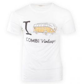 Tee shirt à manches courtes slogan vintage homme FABULOUS ISLAND