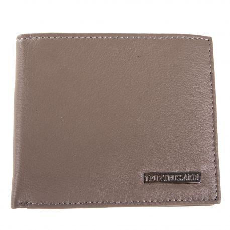 Porte carte en simili cuir homme TRUSSARDI marque pas cher prix dégriffés destockage