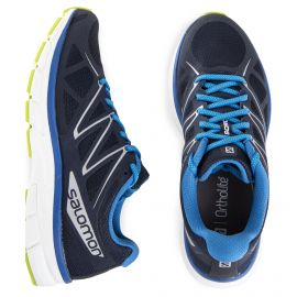Baskets running bleues homme SALOMON