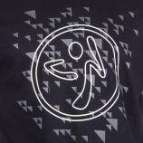 Tee shirt à manches courtes logo homme ZUMBA marque pas cher prix dégriffés destockage
