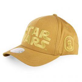Casquette jaune logo star wars enfant FREEGUN marque pas cher prix dégriffés destockage