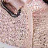 Tennis à paillettes lacets en soie femme VICTORIA marque pas cher prix dégriffés destockage