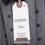 Sac à dos gris à pois enfant KAPORAL marque pas cher prix dégriffés destockage