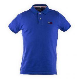 Polo en coton logo homme TOMMY HILFIGER marque pas cher prix dégriffés destockage
