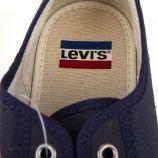 Tennis en toile enfant Levi's marque pas cher prix dégriffés destockage