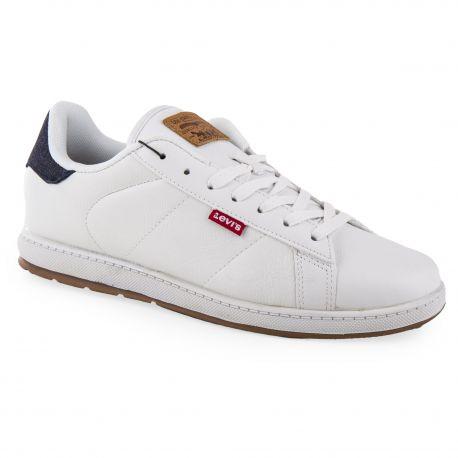 style unique avant-garde de l'époque prix le moins cher Baskets sneakers blanches homme Levi's