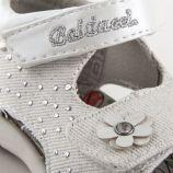Sandales blanches fleurs Fille BALDUCCI marque pas cher prix dégriffés destockage