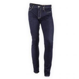 Jean slim bleu brut stretch homme Crossby