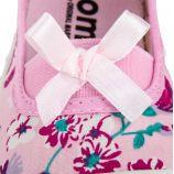 Ballerines violettes à fleurs fille ORIGINAL MARINES marque pas cher prix dégriffés destockage