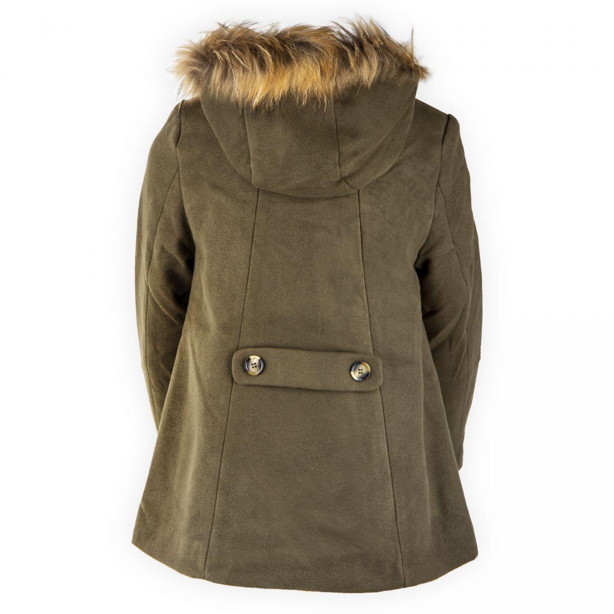 ad70cff455b4 Manteau capuche fourrée enfant BEST MOUNTAIN à prix dégriffé !