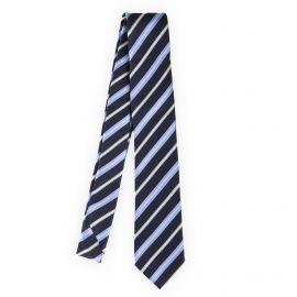Cravate à rayures 100% soie homme MANOUKIAN marque pas cher prix dégriffés destockage