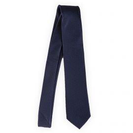 Cravate carreaux 100% soie homme MANOUKIAN marque pas cher prix dégriffés destockage