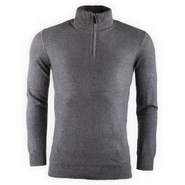 Pull gris col camionneur Homme BEST MOUNTAIN