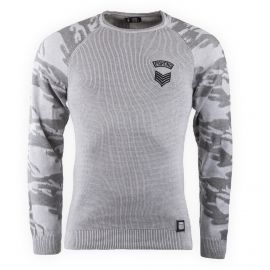 Pull manches camouflage homme HITE