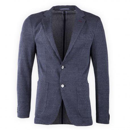 Veste de costume bleu foncé homme TOMMY HILFIGER marque pas cher prix dégriffés destockage