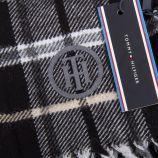 Écharpe laine femme 200CM X 150CM TOMMY HILFIGER marque pas cher prix dégriffés destockage