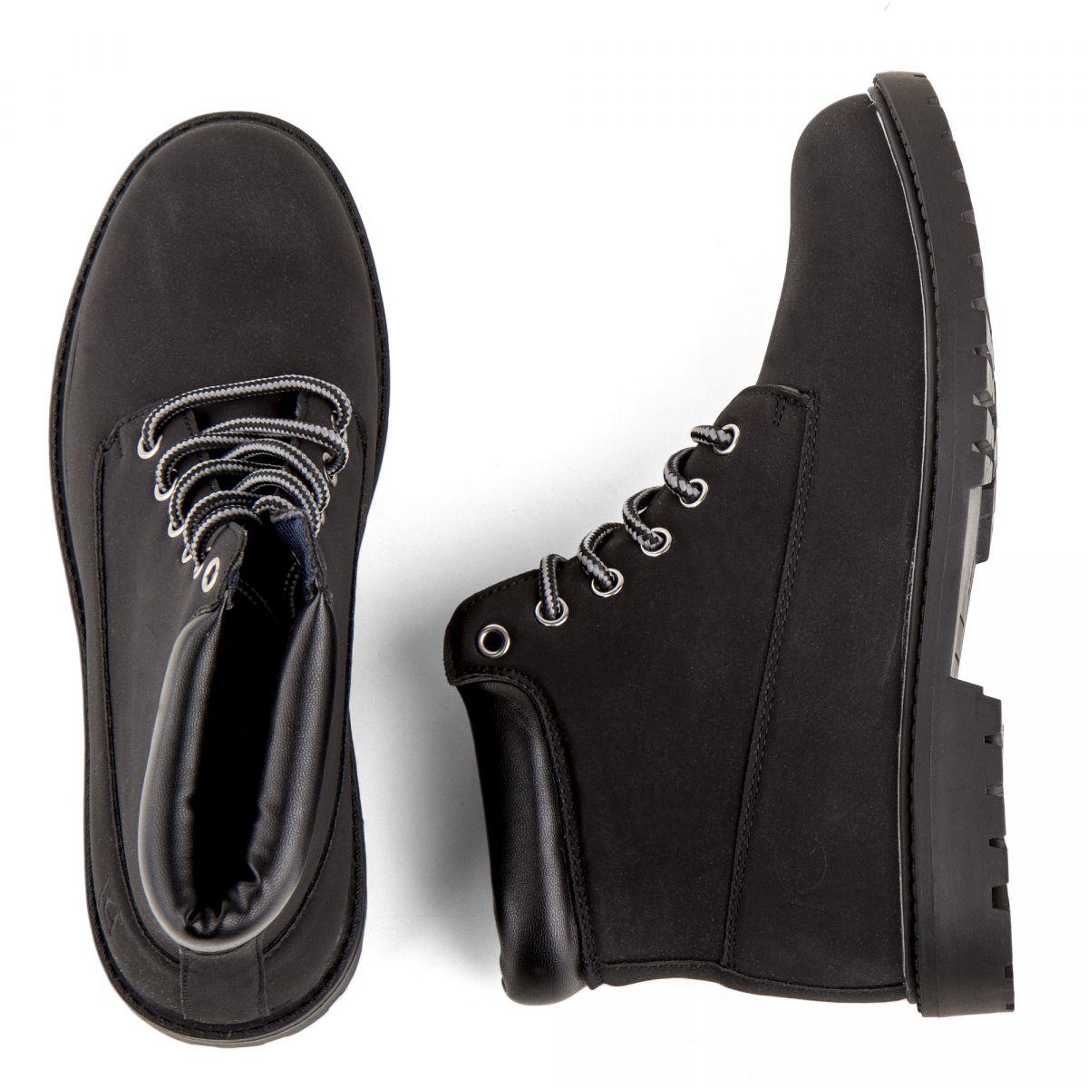 Femme Boots Henry Cotton's À Chaussures Montantes Costa Mustardblack F3KTl1Jc