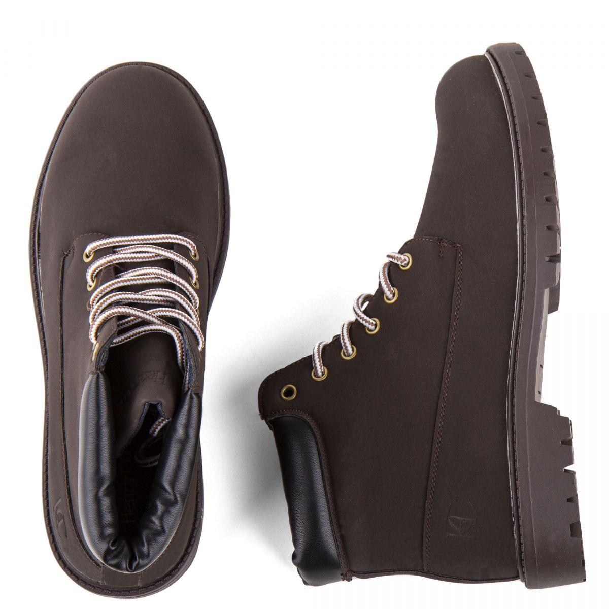 Dégriffé Homme Montantes Boots Chaussures Prix Henry Cotton's À vn0wm8NO