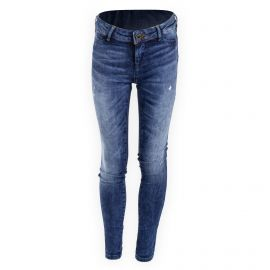 Jean destroy super skinny fit ultra stretch fille LA MILOU SCOTCH & SODA marque pas cher prix dégriffés destockage