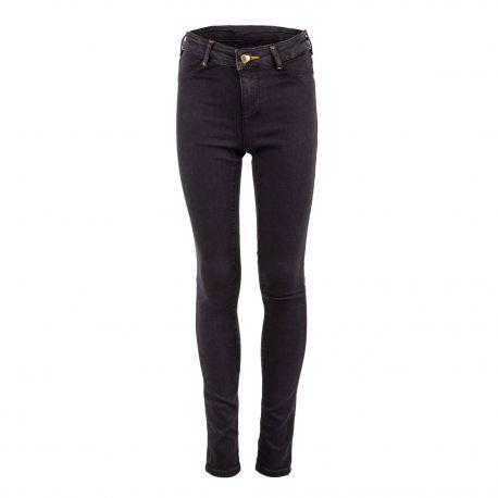 Pantalon super skinny fit noir fille LA MILOU SCOTCH & SODA marque pas cher prix dégriffés destockage
