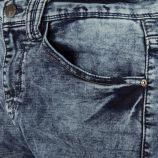 Jean bleu délavé slim fit homme 98-86 marque pas cher prix dégriffés destockage