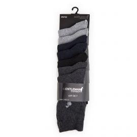 Lot de 7 paires de chaussettes coton stretch Homme GENTLEMAN FARMER