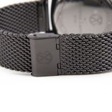 Montre noire bracelet maille milanaise Homme CHRISTIAN LACROIX marque pas cher prix dégriffés destockage